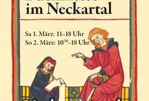 """8. Kleine Buchmesse im Neckartal, 2014 / 01.-02.03.2014, Neckarsteinach, Bürgerhaus """"Zum Schwanen"""""""
