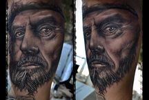 christos galiropoulos tattoo artwork / blackline tattoo