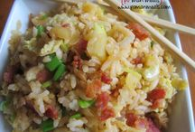 fried rice / by Debbie Edge
