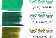 Cards- Distress Inks/Oxides / tim holtz distress inks and oxides  colours and ideas