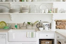 kitchen shelves / by Linda Anderson