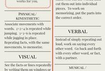 Learning  & memorisation hacks