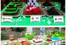 Minecraft Birthday Party