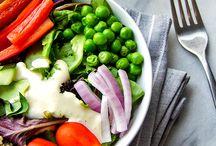 Salater & dressing