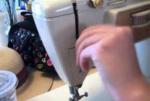 sewing how to's / How to pins for sewing and diy