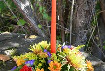 Thanksgiving Centerpieces (Flowers)