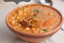 soupe plats en sauce