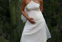 Svatební šaty - těhotenské