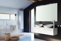 KWADRO SLIM - Kolekcja Mebli Łazienkowych / Lekka i jednocześnie trwała konstrukcja Kwadro Slim doskonale współgra z minimalistycznymi łazienkami gdzie ważna jest swoboda i przestrzeń. Siła prostoty w podstawowych kolorach bieli, czerni i trufli, zapewnia idealne dopasowanie do każdego wnętrza.