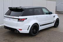 Range Rover Sport 2014 Body Kits / A  range of body kits for the Range Rover Sport 2014