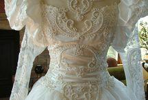 1980s wedding dresses