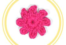 CROCHET FLOWERS / Pretty and easy to-do crochet flowers, each pattern has its own chart and video tutorial, 100% in English =).