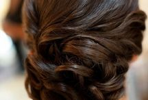 Crimping and curling and hair finger twirling / by Stephanie Maddox