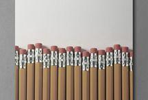 kurşun kalemler