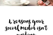 Social Media / The board is a curation of the top tips and tricks to help your build your social media following and leverage it for your business.