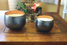 Eastern Spice Range - By Ember / Hand beaten copper pots - Soy Wax
