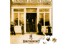 Browning Gifts / Puzzles, etc. for the Browning fan in your life.