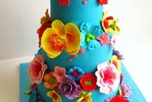 Sarah's wedding cake