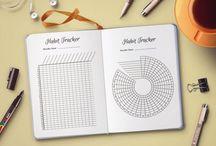 Bullet journal / Some ideas for bullet journals