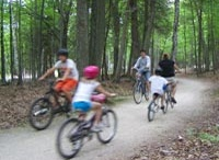 On Land activities in Door County, Wisconsin