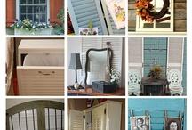 Re-purpose - shutters