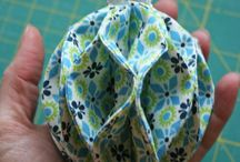 Fabric ornaments for all occasions / Fabric ornaments