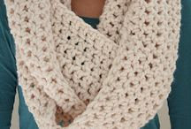 Winter wearable crochet and knit / Hats, scarves, cowls, mittens and other crocheted or knitted winter wearables including both inspiration and patterns