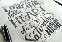 Design | Hand Draw Typography / by Adnan Anwar