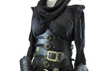 Vestuario medieval y fantasía / Combinaciones realizadas con el vestuario y accesorios de Tienda EFEYL