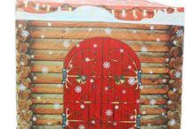 Carpas plegables Navidad / Collapsible Christmas tent