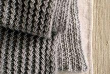 Beginning knitting...