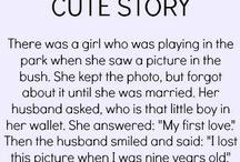 cute story/sad story's