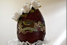 Crafty | Eggs / by Tammy @ Not Just Paper and Glue