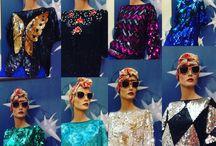 vintage sequins tops
