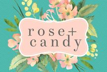 rose + candy
