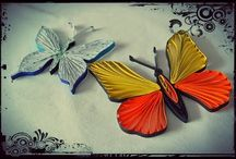 quilling πεταλούδες