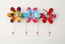 Creaciones Ecodriades / Artesanía con material reciclado