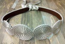 cinturones y brazaletes