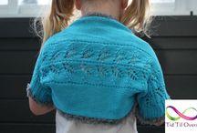 Strikkede bursdagsgaver til barn / Strikket både på strikkemaskin og symaskin