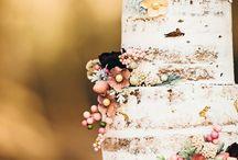 (floral) wedding cake