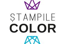 Stampile color dreptunghiulare / Stampile color dreptunghiulare