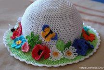 шляпки крючком