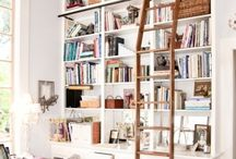 Bookcase with Stair
