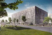 Pelican Self Storage by Lendager Arkitekter / The architectural visuals for Pelican Self Storage by Lendager Arkitekter.