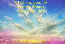 10 Favorite Things / In honor of the eternal teachings of Abraham-Hicks I am going to start a movement today. Please joining me in jumping on a high flying disc and raising and sustaining higher and higher vibrations of consciousness.