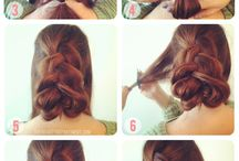 hair up do's
