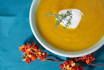 Let's Share Vegetarian Soup Recipes / I regularly do homemade soup and bread nights where people come and enjoy the bounty. If you would like to exchange your favorite (or potentially favorite) VEGETARIAN (no fish, red meat, pork, or poultry) SOUP RECIPES (no other types of recipes or information please or they will be deleted), and contribute to this board please leave me a comment. Thanks! / by Sharon Horning