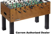 Foosball Tables All on Sale / This are our best selling tables. Free shipping and insurance. Tracking code.   With a natural wood finish cabinet that complements any room's decor, these foosball tables are perfect for a friendly match with your buddies or a serious bout with your biggest rival. Detailed with sturdy steel supports and a smooth playing surface that provides an even match up.