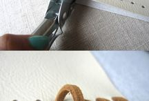 DIY Craft/remaking / Do it yourself, inspiration and remake of old stuff