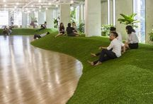office space & relax rooms